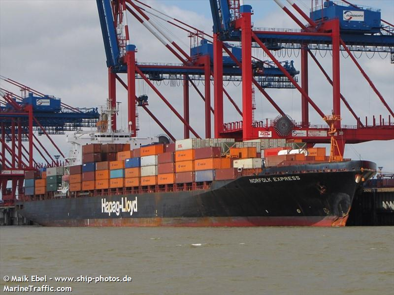 Vessel details for: OEL EMIRATES (Container Ship) - IMO