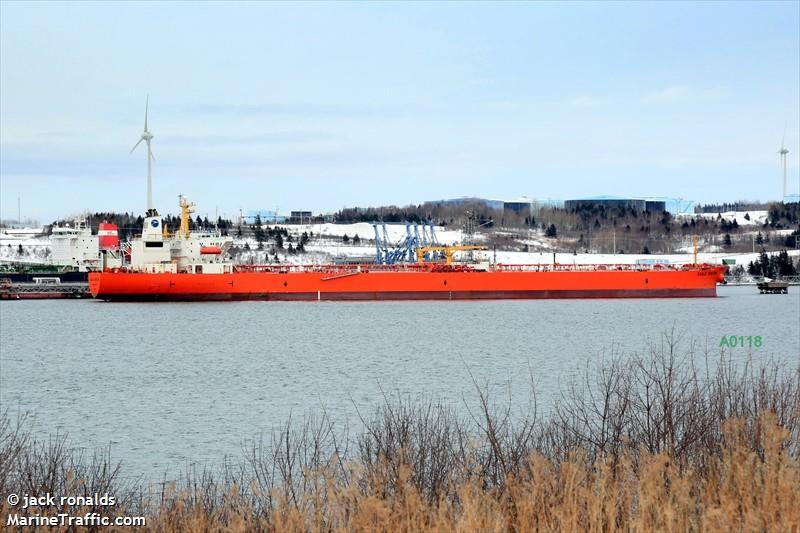 Vessel details for: BOSTON (Crude Oil Tanker) - IMO 9111620