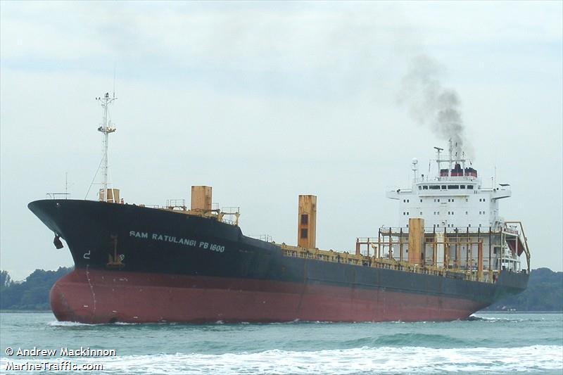 Vessel Details For Sam Ratulangi Pb 1600 Container Ship