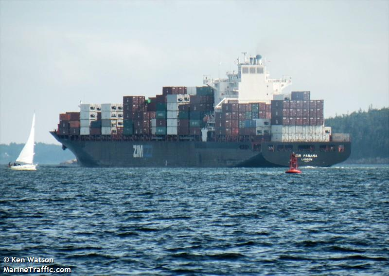 Vessel details for: MSC PANAMA (Container Ship) - IMO