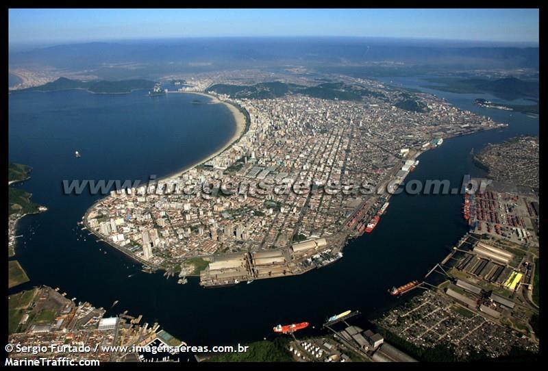 Port of SANTOS (BR SSZ) details - Departures, Expected