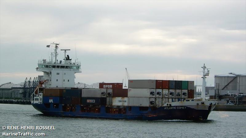 Vessel details for: ATLANTIC COMET (Container Ship) - IMO 9113733