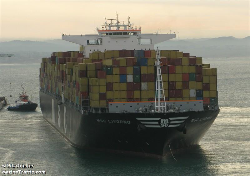 Vessel Details For Msc Livorno Container Ship Imo