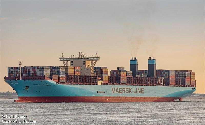 Vessel details for: MAERSK MC KINNEY MOLLER (Container Ship