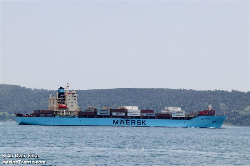 Vessel details for: NELE MAERSK (Container Ship) - IMO