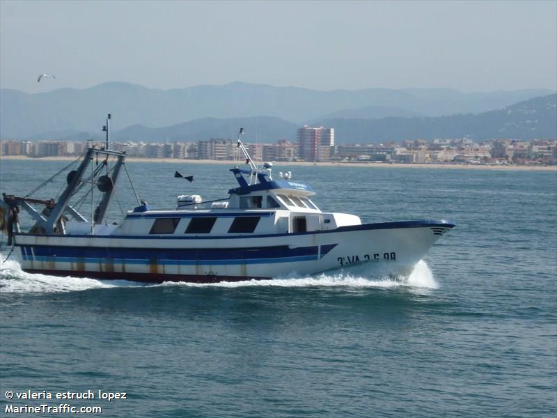 Vessel details for: REBOMO (Fishing) - MMSI 224087230, Call Sign