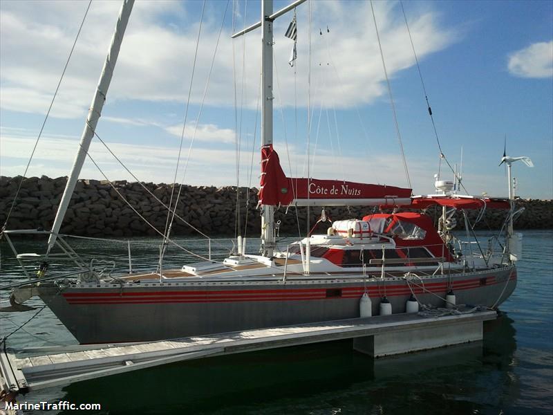 gemi detaylar cote de nuits sailing vessel mmsi 228010800 call sign fge8629 bayra na. Black Bedroom Furniture Sets. Home Design Ideas