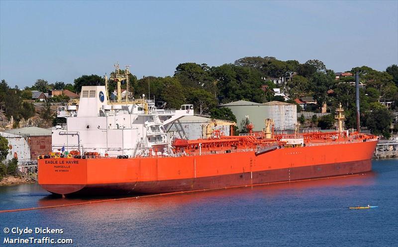 Vessel details for: eagle le havre crude oil tanker imo 9795103