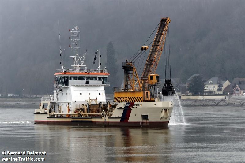 Schiffsdetails für: gambe damfard hopper dredger imo 9375434