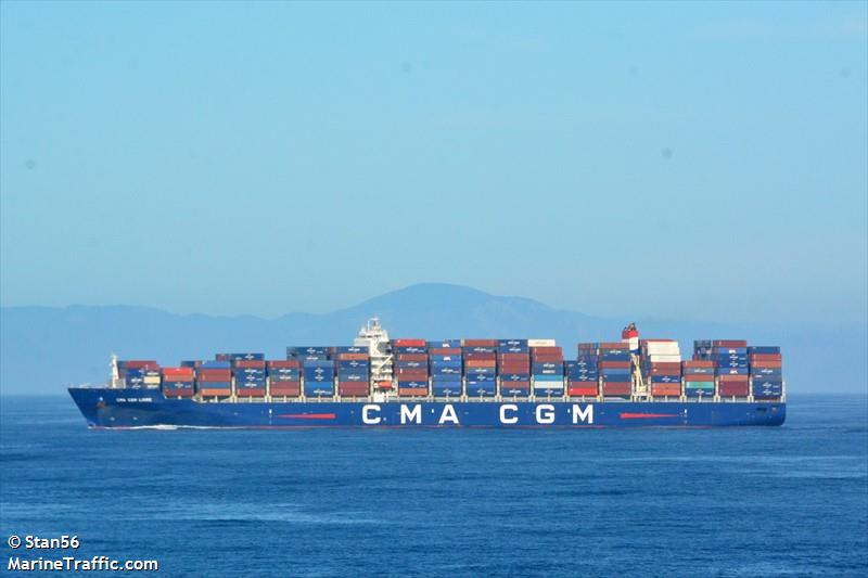 Vessel details for: CMA CGM LOIRE (Container Ship) - IMO