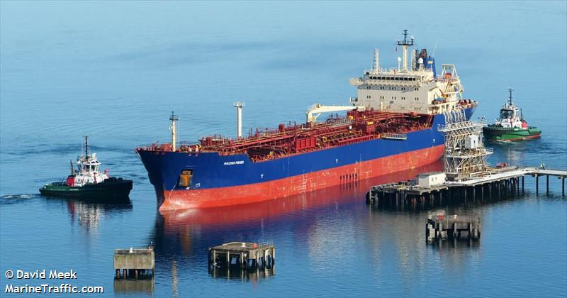 Vessel details for: RALEIGH FISHER (Oil Products Tanker