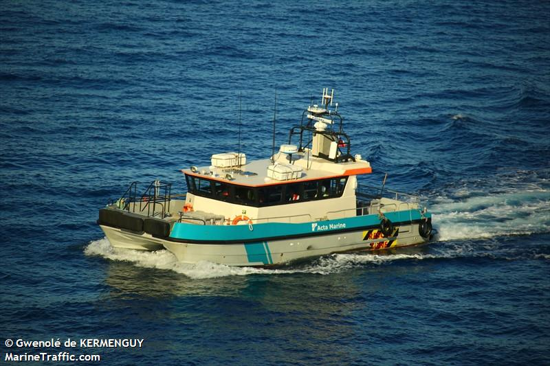 Vessel details for: OFFSHORE RESPONSE 1 (High Speed Craft) - MMSI