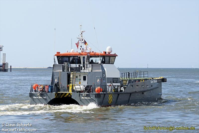Vessel details for: SURE SHAMAL (Supply Vessel) - IMO 9614581, MMSI