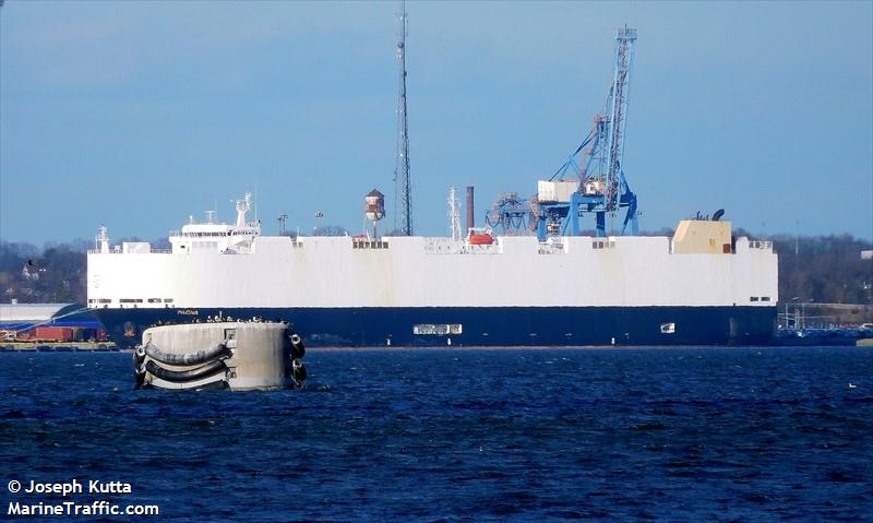 Vessel details for: PAGNA (Vehicles Carrier) - IMO 9427952, MMSI