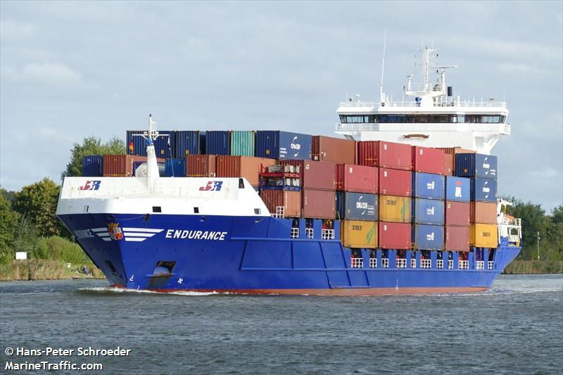 Vessel details for: ENDURANCE (Container Ship) - IMO 9312200