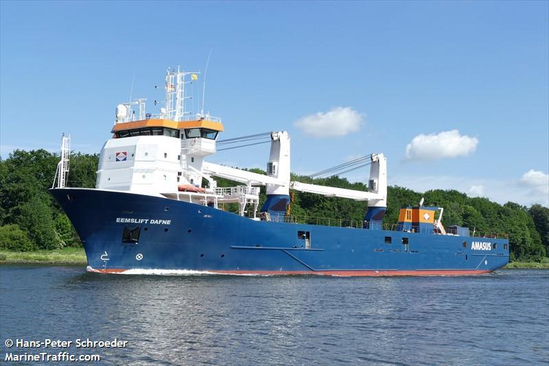 Vessel details for: EEMSLIFT DAFNE (Heavy Load Carrier ...