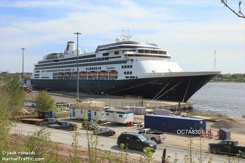 Vessel Details For ZAANDAM Passenger Ship IMO MMSI - Zaandam ship