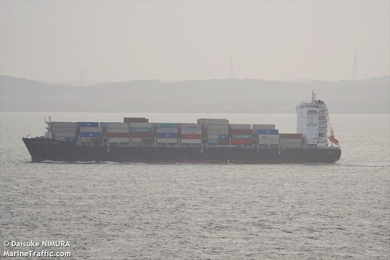 vessel details for delaware trader container ship imo 9793715