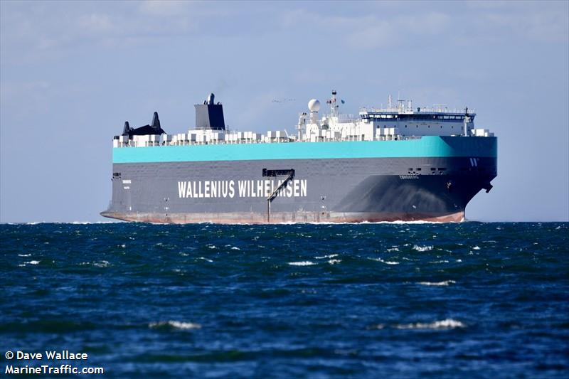 Vessel details for: TONSBERG (Vehicles Carrier) - IMO