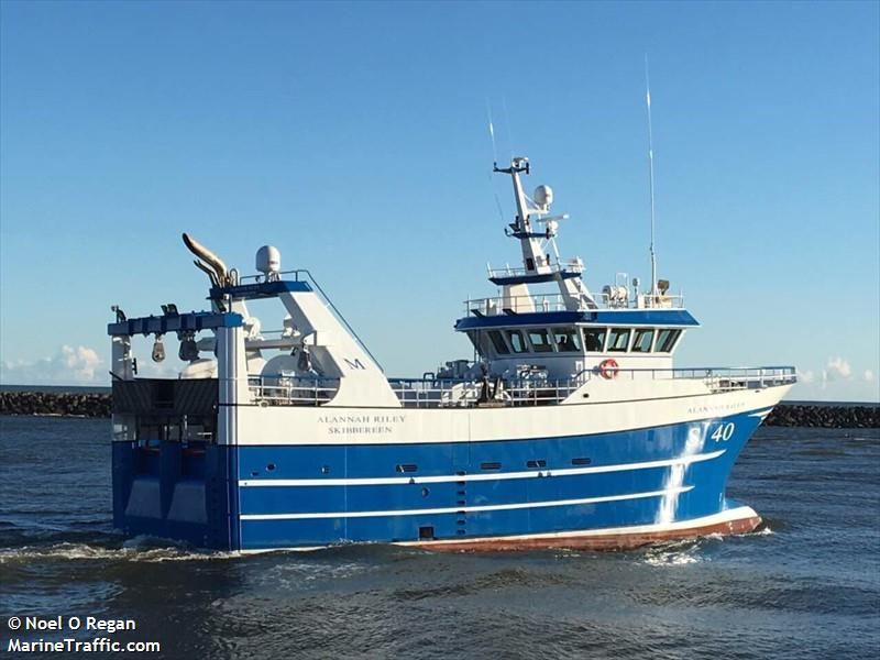 Vessel details for: ALANNAH RILEY (Fishing) - IMO 9782390 ...