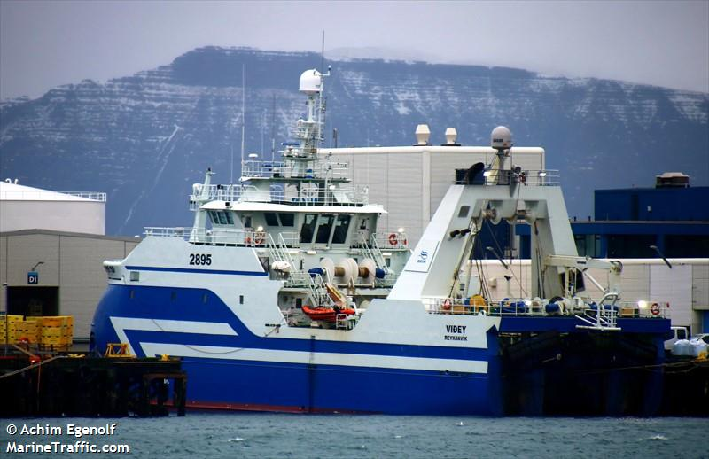 Vessel details for: VIDEY (Fishing) - IMO 9756339, MMSI 251107000