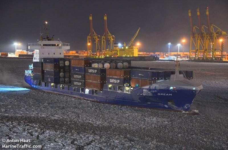 مواصفات سفن ل: DREAM (Container Ship) - IMO 9322578, MMSI