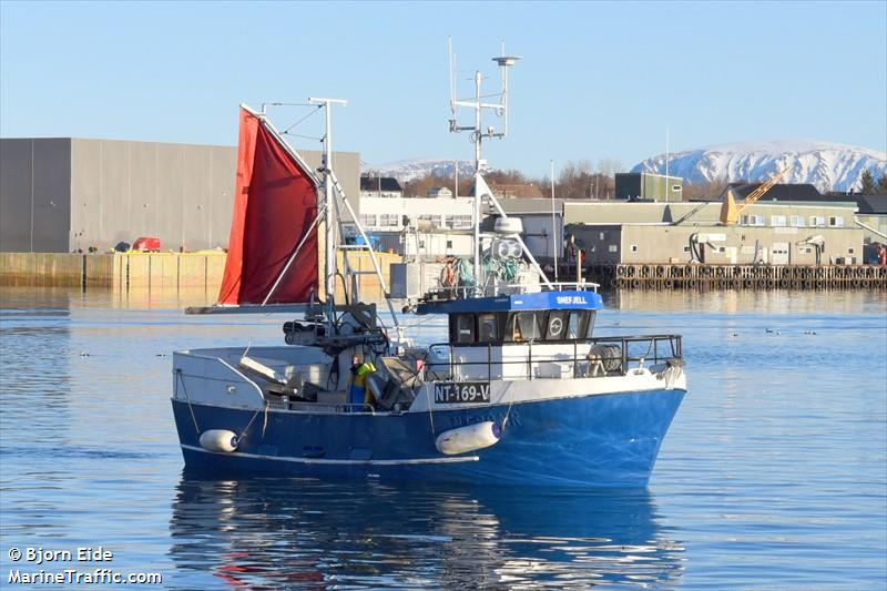 Vessel details for: SNEFJELL (Fishing) - MMSI 257176320