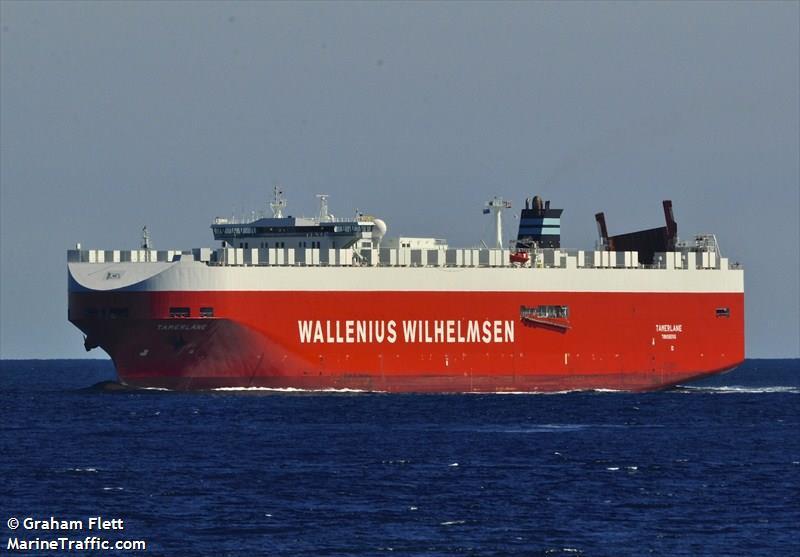 Vessel details for: TAMERLANE (Vehicles Carrier) - IMO