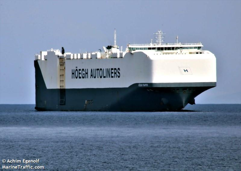 Vessel details for: HOEGH TRAPPER (Vehicles Carrier) - IMO
