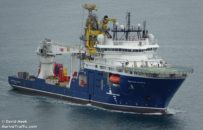 Vessel details for: NORTH SEA ATLANTIC (Offshore Supply Ship) - IMO