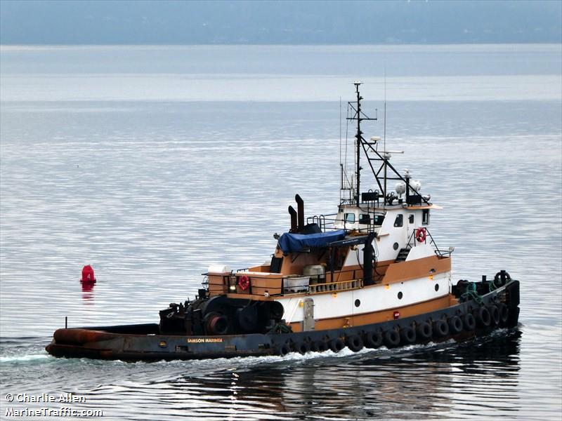 Vessel details for: SAMSON MARINER (Towing Vessel) - IMO