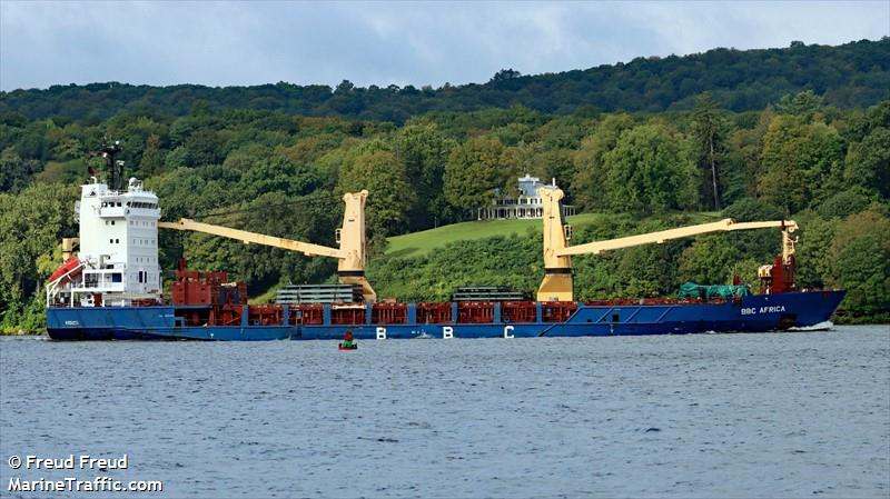 Vessel details for: BBC AFRICA (General Cargo) - IMO 9362621