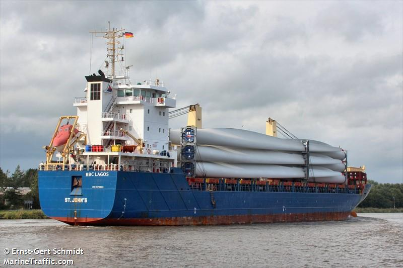 Vessel details for: BBC LAGOS (General Cargo) - IMO 9570668, MMSI