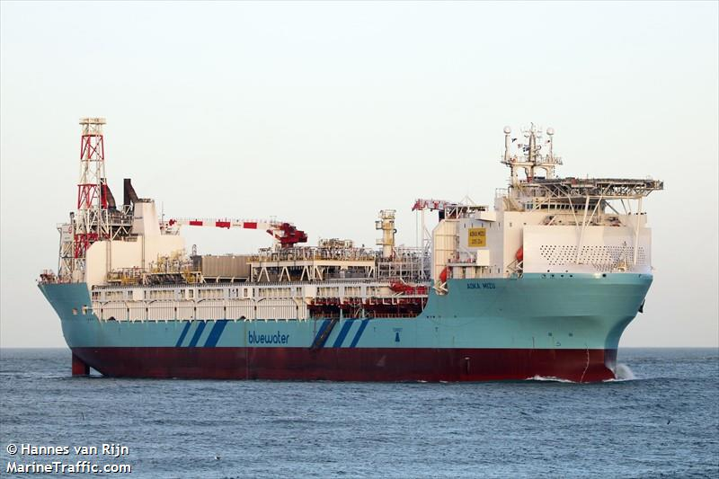 Vessel details for: AOKA MIZU (Floating Storage/Production