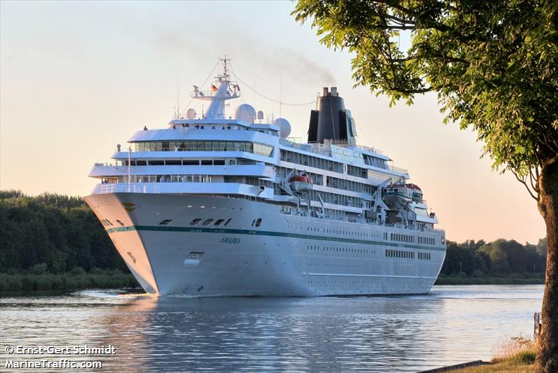 Vessel Details For AMADEA Passenger Ship IMO MMSI - Amadea cruise ship itinerary