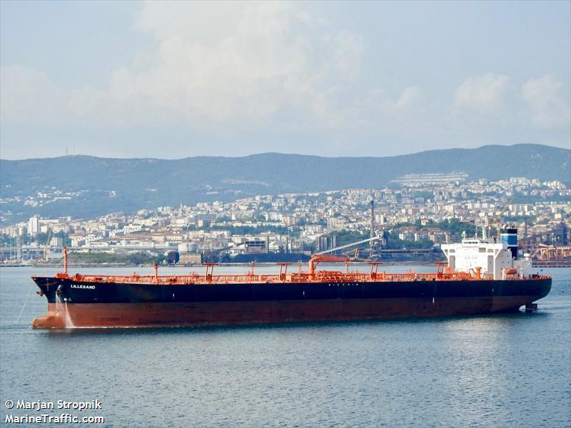Vessel details for: LILLESAND (Crude Oil Tanker) - IMO 9336397, MMSI