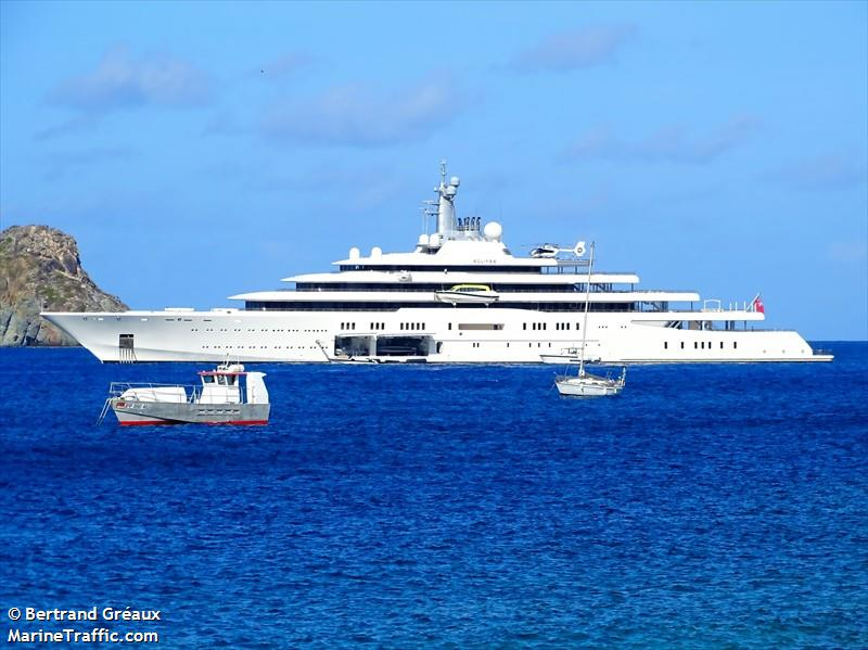 Vessel Details For Eclipse Yacht Imo 1009613 Mmsi 310593000
