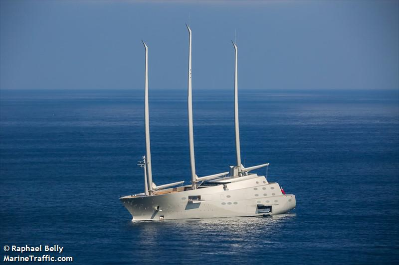 Sailing Yacht A >> Vessel Details For Sailing Yacht A Sailing Vessel Imo