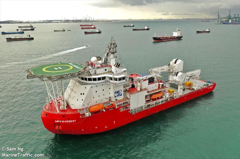 Vessel details for: MPV EVEREST (Offshore Supply Ship) - IMO 9769130