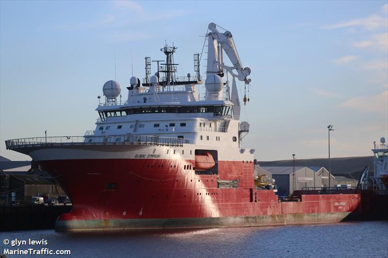 Vessel details for: GLOBAL SYMPHONY (Offshore Supply Ship