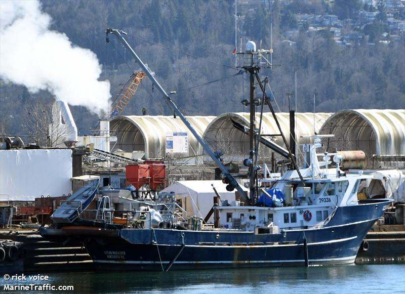 Vessel details for ocean marauder fishing vessel imo for Fishing access near me