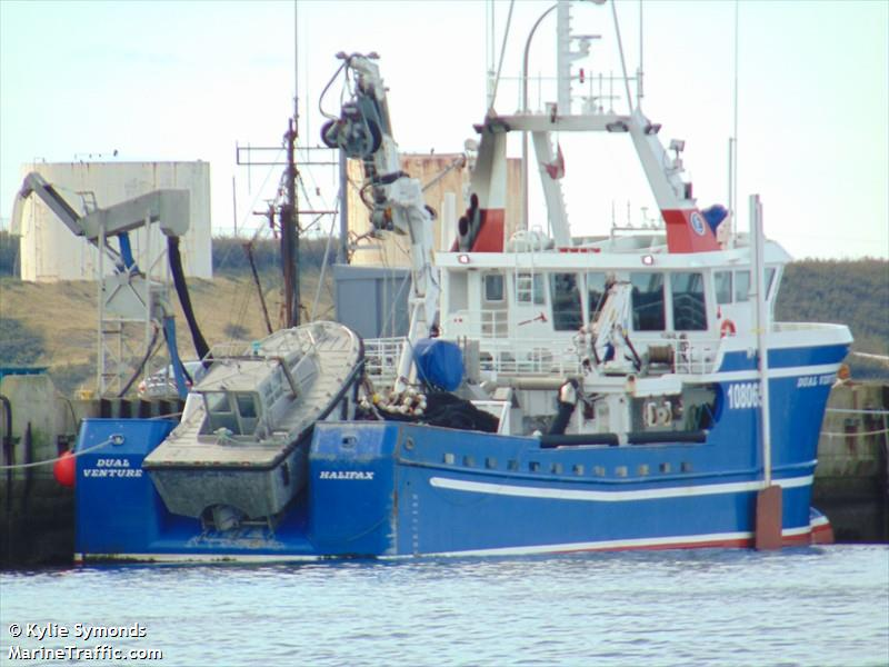 Vessel details for dual venture fishing vessel imo for Fishing access near me