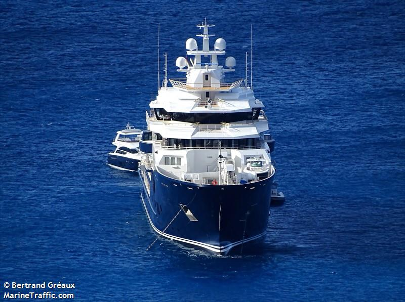 Vessel Details For Ulysses Yacht Imo 9770270 Mmsi 319105100