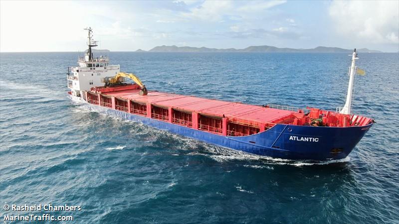 Vessel details for: ATLANTIC (Aggregates Carrier) - IMO 8002731