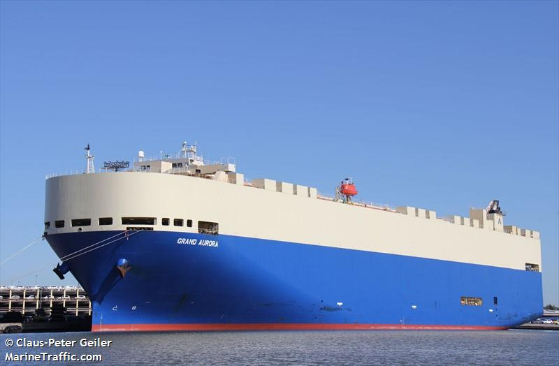 Vessel details for: GRAND AURORA (Vehicles Carrier) - IMO