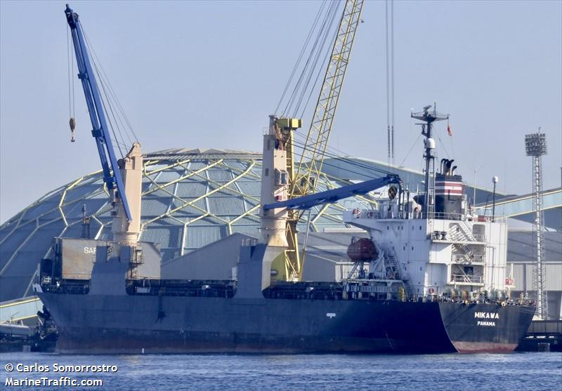Vessel details for: MIKAWA (General Cargo) - IMO 9354208