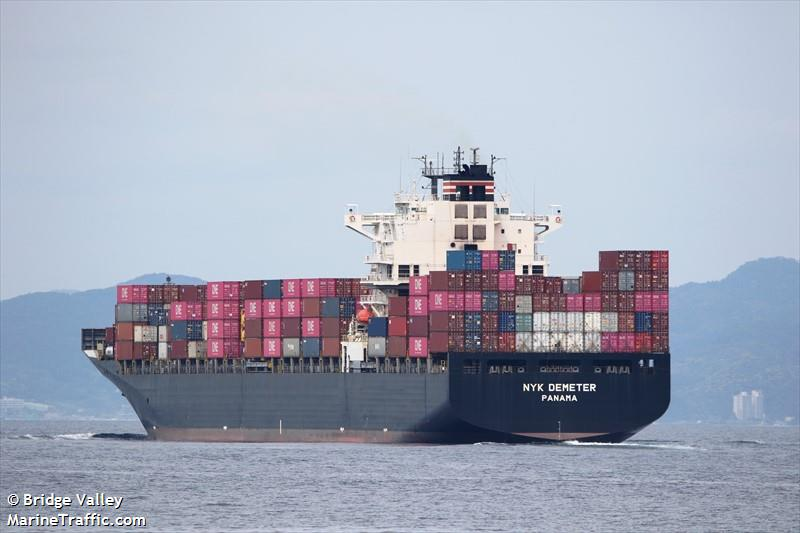 Vessel details for: NYK DEMETER (Container Ship) - IMO