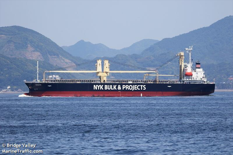 Vessel details for: NAGATO (General Cargo) - IMO 9665877, MMSI