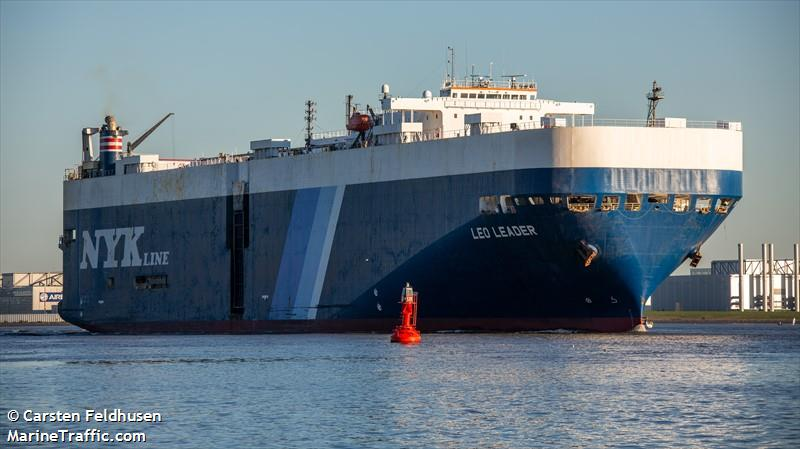 Vessel details for: LEO LEADER (Vehicles Carrier) - IMO 9181558
