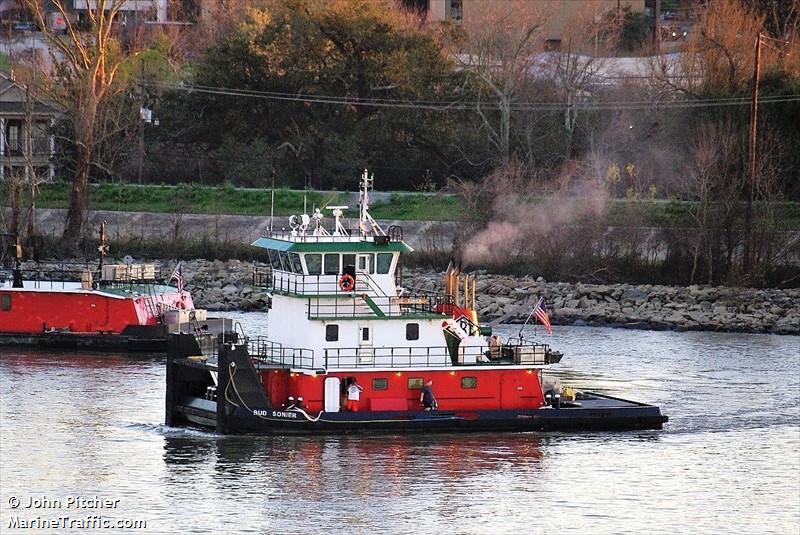 Vessel details for: BUD SONIER (Tug) - MMSI 367415180, Call